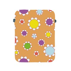 Floral Flowers Retro 1960s 60s Apple Ipad 2/3/4 Protective Soft Cases by Celenk