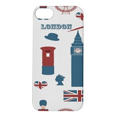 London Icons Symbols Landmark Apple Iphone 5s/ Se Hardshell Case by Celenk