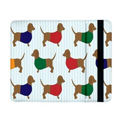 Dachshund Dog Cartoon Art Samsung Galaxy Tab Pro 8 4  Flip Case by Celenk