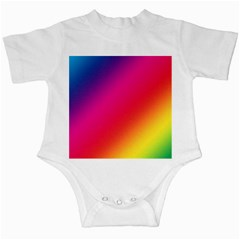 Spectrum Background Rainbow Color Infant Creepers