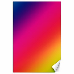 Spectrum Background Rainbow Color Canvas 24  X 36