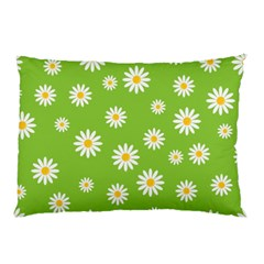 Daisy Flowers Floral Wallpaper Pillow Case (two Sides)