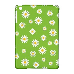 Daisy Flowers Floral Wallpaper Apple Ipad Mini Hardshell Case (compatible With Smart Cover) by Celenk