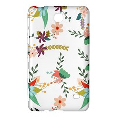 Floral Backdrop Pattern Flower Samsung Galaxy Tab 4 (7 ) Hardshell Case