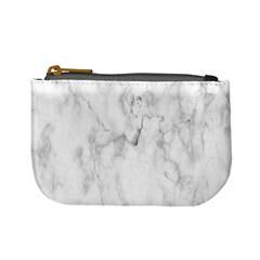 White Background Pattern Tile Mini Coin Purses