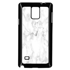 White Background Pattern Tile Samsung Galaxy Note 4 Case (black)