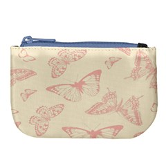 Butterfly Butterflies Vintage Large Coin Purse by Celenk