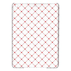 Hearts Pattern Love Design Ipad Air Hardshell Cases by Celenk