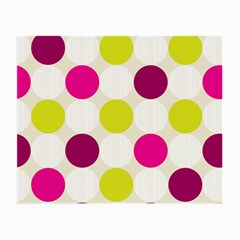 Polka Dots Spots Pattern Seamless Small Glasses Cloth (2 Side)