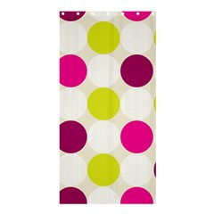 Polka Dots Spots Pattern Seamless Shower Curtain 36  X 72  (stall)  by Celenk