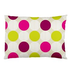 Polka Dots Spots Pattern Seamless Pillow Case (two Sides)