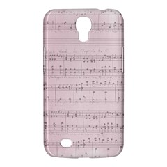 Vintage Pink Music Notes Samsung Galaxy Mega 6 3  I9200 Hardshell Case by Celenk