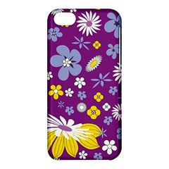Floral Flowers Wallpaper Paper Apple Iphone 5c Hardshell Case by Celenk