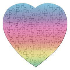 Background Watercolour Design Paint Jigsaw Puzzle (heart) by Celenk
