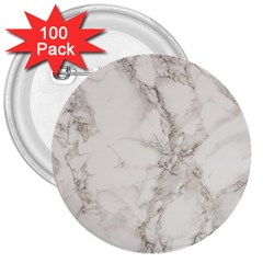 Marble Background Backdrop 3  Buttons (100 Pack)