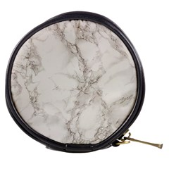 Marble Background Backdrop Mini Makeup Bags by Celenk