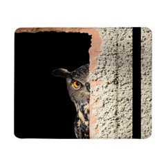 Owl Hiding Peeking Peeping Peek Samsung Galaxy Tab Pro 8 4  Flip Case by Celenk