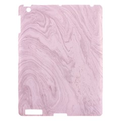 Marble Background Texture Pink Apple Ipad 3/4 Hardshell Case by Celenk