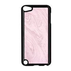 Marble Background Texture Pink Apple Ipod Touch 5 Case (black) by Celenk