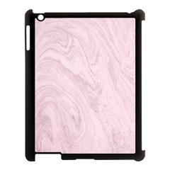 Marble Background Texture Pink Apple Ipad 3/4 Case (black) by Celenk