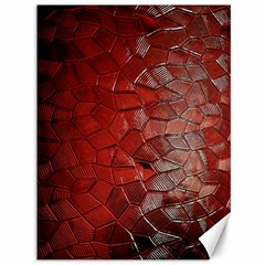 Pattern Backgrounds Abstract Red Canvas 36  X 48