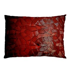 Pattern Backgrounds Abstract Red Pillow Case (two Sides)
