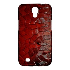 Pattern Backgrounds Abstract Red Samsung Galaxy Mega 6 3  I9200 Hardshell Case by Celenk
