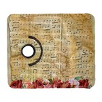 Background Old Parchment Musical Galaxy S3 (Flip/Folio) Front