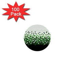 Tech Camouflage 2 1  Mini Buttons (100 Pack)