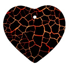 Magma Ornament (heart) by jumpercat