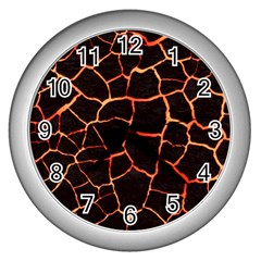 Magma Wall Clocks (silver)