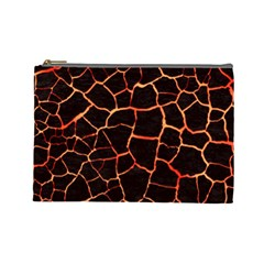 Magma Cosmetic Bag (large)  by jumpercat