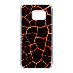Magma Samsung Galaxy S7 White Seamless Case by jumpercat