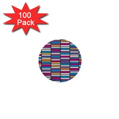 Color Grid 01 1  Mini Buttons (100 Pack)