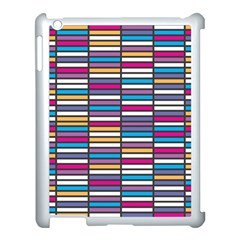 Color Grid 01 Apple Ipad 3/4 Case (white) by jumpercat