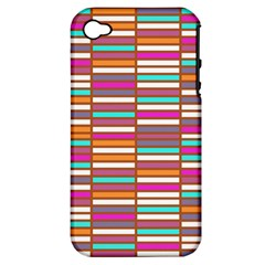 Color Grid 02 Apple Iphone 4/4s Hardshell Case (pc+silicone) by jumpercat