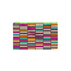 Color Grid 02 Cosmetic Bag (xs)