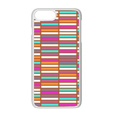 Color Grid 02 Apple Iphone 8 Plus Seamless Case (white)