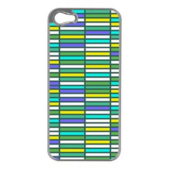 Color Grid 03 Apple Iphone 5 Case (silver) by jumpercat