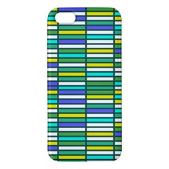 Color Grid 03 Apple Iphone 5 Premium Hardshell Case by jumpercat