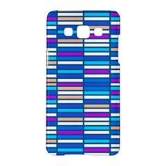 Color Grid 04 Samsung Galaxy A5 Hardshell Case  by jumpercat