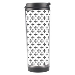 Black Cross Travel Tumbler