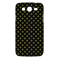 Yellow Cross Samsung Galaxy Mega 5 8 I9152 Hardshell Case