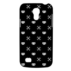 White Pixel Skull Pirate Galaxy S4 Mini by jumpercat