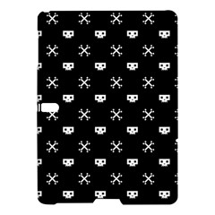White Pixel Skull Pirate Samsung Galaxy Tab S (10 5 ) Hardshell Case