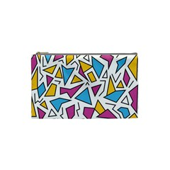 Retro Shapes 01 Cosmetic Bag (small)  by jumpercat
