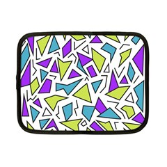 Retro Shapes 02 Netbook Case (small)  by jumpercat