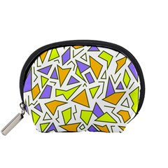 Retro Shapes 04 Accessory Pouches (small)  by jumpercat