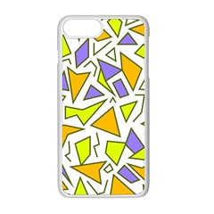 Retro Shapes 04 Apple Iphone 8 Plus Seamless Case (white)