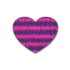Cheshire Cat 01 Rubber Coaster (heart)  by jumpercat